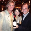 MOVIE STAR KURT RUSSELL WITH ROBIN & MARK LEVINSON AT GREENALICIOUS EVENT IN ASPEN