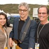 ROCK STAR STEVE MILLER (STEVE MILLER BAND) WITH ROBIN & MARK LEVINSON AT JAZZ ASPEN CONCERT BACKSTAGE