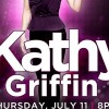 Comedienne Kathy Griffin is Back for More Applause at Hard Rock Live on July 11