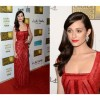 Emmy Rossum wears Norman Silverman to the Critics' Choice Awards