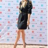 RITA ORA WEARS EMANUEL UNGARO AT THE PHOTO CALL FOR ISLE OF MTV MALTA