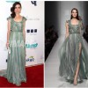 Actress Crystal Reed wears Tony Ward to the 4th Annual Thirst Gala