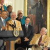The 1972 Miami Dolphins Honored By President Obama at the White House