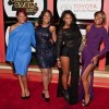 "The cast of WE tv's hit series ""Braxton Family Values"" attended the Soul Train Awards"