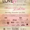 Love & Wine – a Rooftop Wine & Spirits, Gastronomic Affair