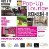 Miami Ad School Hosts An Unparalleled Pop-Up Lounge Experience for Press & VIPs
