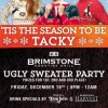 """BRIMSTONE WOODFIRE GRILL TO HOST """"UGLY SWEATER HOLIDAY PARTY"""" ON DECEMBER 19th"""