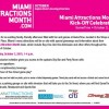 Celebrate GMCVB's Miami Attractions Month Kick-Off Celebration at GameTime on Saturday, October 3rd from 1pm – 4:00pm.