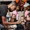Chris and Adrienne Bosh of Team Tomorrow Inc. teamed up with Chapman Partnership for their 4th year feeding local families in Miami this Thanksgiving