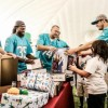 Miami Dolphins Host 125 Kids From Tri-County Area For Holiday Toy Event