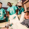 Miami Dolphins in the Community: Baptist Children's Hospital Visit