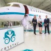 CRYSTAL UNVEILS BOMBARDIER GLOBAL EXPRESS XRS AS PART OF CRYSTAL LUXURY AIR