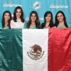 Miami Dolphins Select Four Participants In Mexico City Audition For Cheerleader Finals in Miami