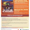 Book Launch – The State and the Grassroots: Immigrant Transnational Organizations in Four Continents – Wednesday, March 30