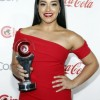 Gina Rodriguez wore Hearts on Fire and Doves to The CinemaCon Big Screen Achievement Awards