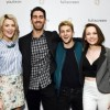Grace Helbig, Bret Easton Ellis at at Fullscreen's SVOD Event