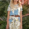 Hailey Baldwin wore Mattia Cielo to the '2016 Coach And Friends Of The High Line Summer Party'