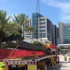 150 TONS OF STRUCTURAL STEEL ARRIVES AT MIAMICENTRAL