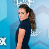 Lea Michele wore Doves by Doron Paloma to the 2016 Fox Upfront