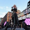 Gwen Stefani wore Cristiano Burani while performing in New York City