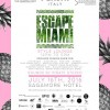 Escape Miami Style Lounge at the Sagamore Hotel Miami Beach