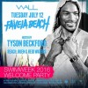 Miami Swim Week events and WALL's 7th Anniversary Bash With actor and model Tyson Beckford