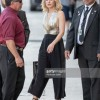 Kristen Bell wore Maria Lucia Hohan and Bavna to 'Jimmy Kimmel Live'