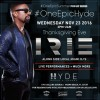 Hyde Beach Hosts Thanksgiving Eve Celebration with DJ Irie ­