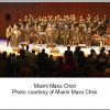 Miami Mass Choir to celebrate new album at Free Gospel Sundays concert – December 11