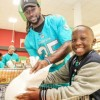 Miami Dolphins and Publix Partner for Kids and Fins Thanksgiving Shopping Spree