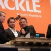 Dennis Quaid Breaks Gavel at New York Stock Exchange on 11/16