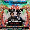 Mr Brainwash hosts a party at Favela Beach during Art Basel
