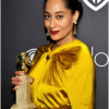 Tracee Ellis Ross wore Pasquale Bruni earrings to the InStyle 18th Annual Post Golden Globes Party