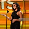 The 59th GRAMMY Awards: Gina Rodriguez wore Hearts on Fire & L'Dezen