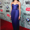Freida Pinto stuns in Maria Lucia Hohan, & Hueb jewels at the 10th annual WIF pre-Oscar party