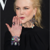Nicole Kidman wore Lydia Courteille jewels to Armani Prive show at Paris Fashion Week