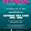 Treats Magazine Presents All-White Rooftop Pool Party