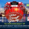 Developmental Football League to the NFL, CFL and AFL, Welcome Draft Party at Clevelander South Beach Miami