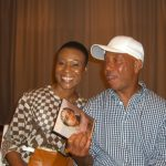 Daedrian McNaughton with Russell Simmons