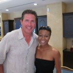 Dan Marino (NFL Hall of Famer) with Daedrian McNaughton-President/Founder of Premier Guide Miami