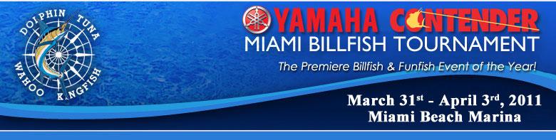 Yamaha Miami Billfish Tournament