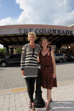 Niki Taylor and Carol Henderson at The Colonnade