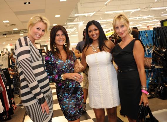 Niki Taylor, Michelle Simon, Reisha Roopchand and Judith Honorowski