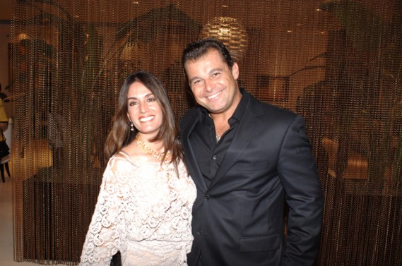 Luciana Fragali & Paulo Bacchi at Artefacto Design House 2011 Grand Opening at Village of Merrick Park showroom. John Stillman Photography