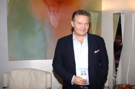 Roger F. Zwickel  at Artefacto Design House 2011 Grand Opening at Village of Merrick Park showroom. John Stillman Photography