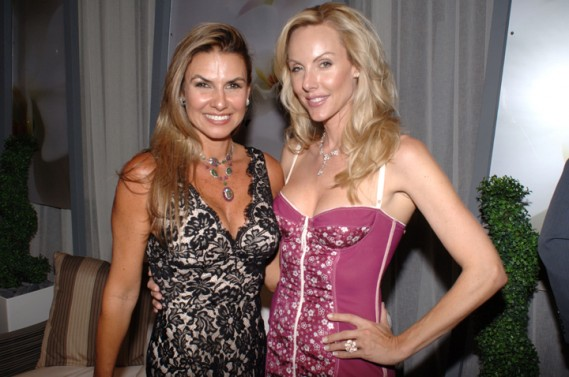 Lais Bacchi & Sofia Joelsson at Artefacto Design House 2011 Grand Opening at Village of Merrick Park showroom. John Stillman Photography