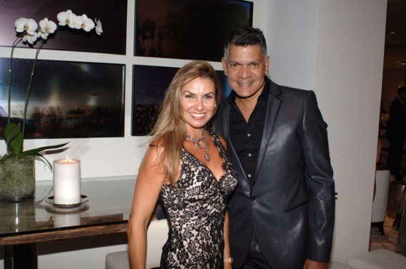 Lais Bacchi & Willman Ramos at Artefacto Design House 2011 Grand Opening at Village of Merrick Park showroom. John Stillman Photography