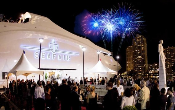 Miami Fireworks New Years Yacht Party 2016 Seafair Mega