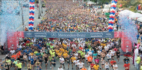 2015 mercedes benz corporate run miami for Mercedes benz corporate run 2018