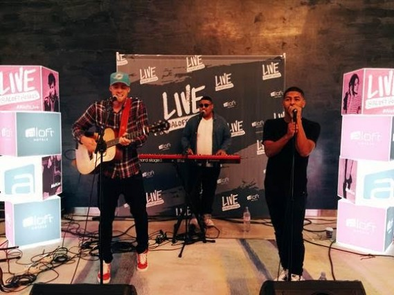 UK sensation Life Of Dillion (David Keiffer, Joe Griffith, Rob Griffith) headlines the Project: Aloft Star kick-off event at Aloft South Beach